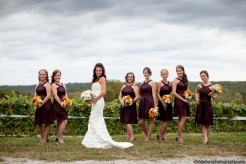 Alicia and bridesmaids