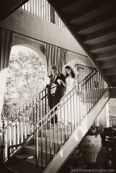 Ashley and Ryan terrace ceremony