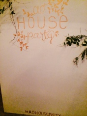 #aohouseparty